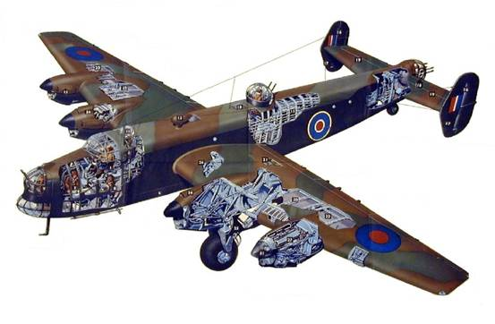 Handley Page Halifax - The Handley Page Hp.57 Halifax heavy bomber was